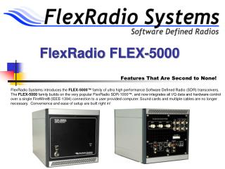 FlexRadio FLEX-5000