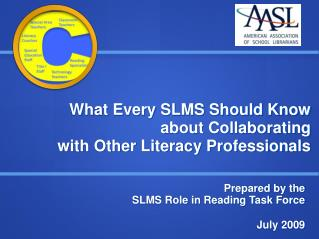 What Every SLMS Should Know about Collaborating  with Other Literacy Professionals