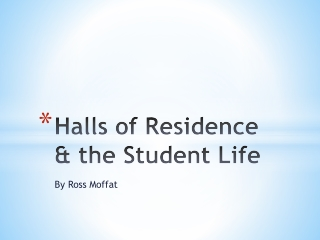 Halls of Residence