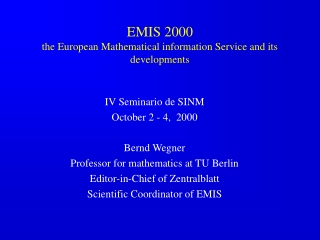 new developments in electronic publishing of mathematics