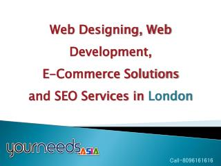 E-Commerce Website Development | London | Dubai SEO Services