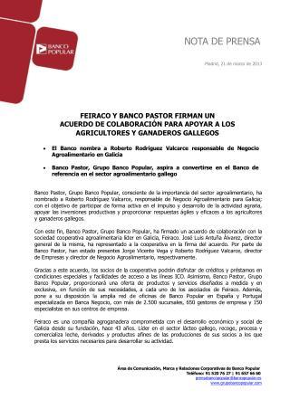 Angel Ron firma 1 acuerdo en apoyo agricultores y ganaderos