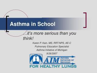 Asthma in School
