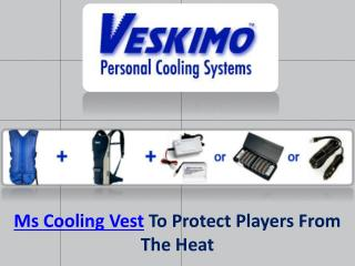 Ms Cooling Vest