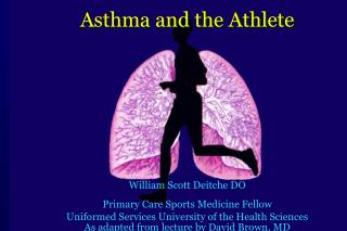 Asthma and the Athlete