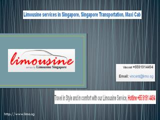 limo service singapore