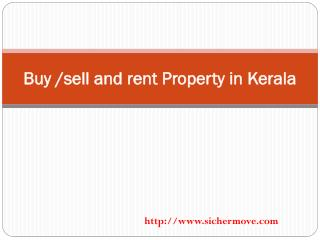Buy, sell and rent properties in kerala