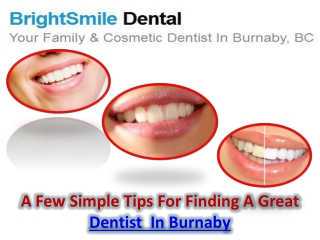 Dentist In Burnaby