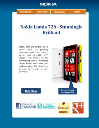 Nokia Lumia 720 Launched