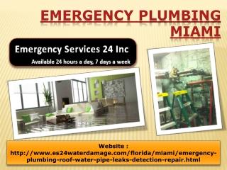 Emergency Plumbing Miami