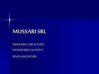MUSSARI SRL