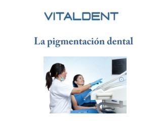 Vitaldent Valladolid: pigmentación dental