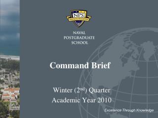 Command Brief