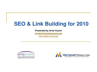 SEO & Link Building for 2010