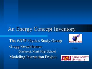An Energy Concept Inventory