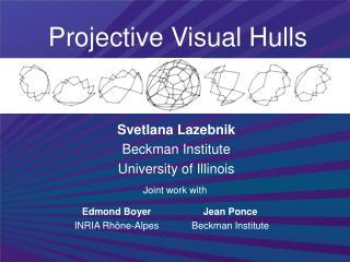 Projective Visual Hulls