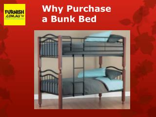 Why Purchase a Bunk Bed