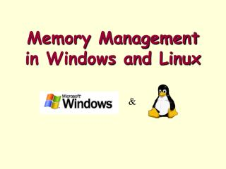 Memory Management in Windows and Linux