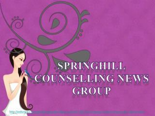 counselling news springhill group, Zes dingen vrouwen eerste