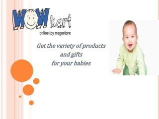 Online Baby Gifts and Shopping