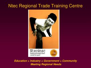 Ntec Regional Trade Training Centre