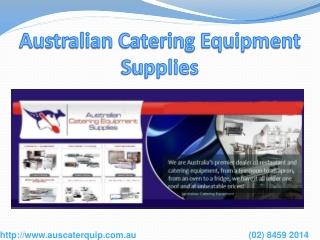 Commercial Catering Equipment, Restaurant Equipment