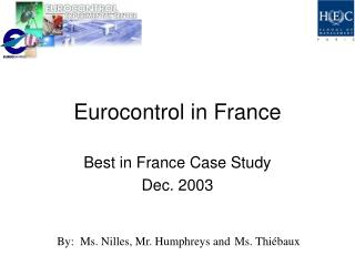 Eurocontrol in France