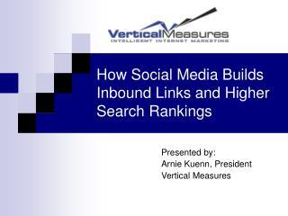 Social Media Builds Inbound Links