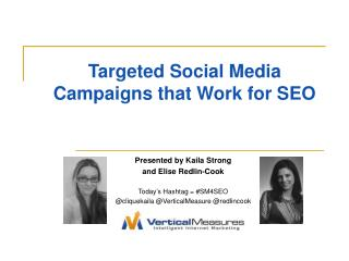 Targeted Social Media Campaigns that Work for SEO