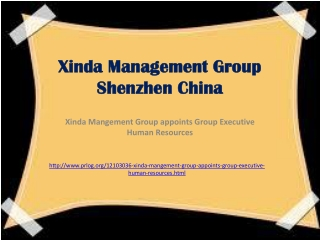 Xinda Management Group Shenzhen China