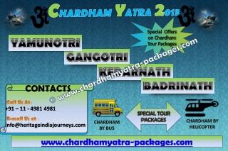 Cahrdham Yatra 2013