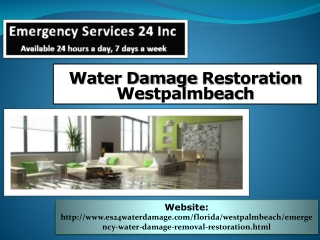 Water Damage Restoration Westpalmbeach