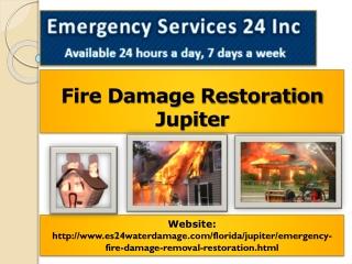 Fire Damage Restoration Jupiter