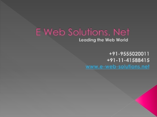 Get Website Designing in Cost Effective Prices