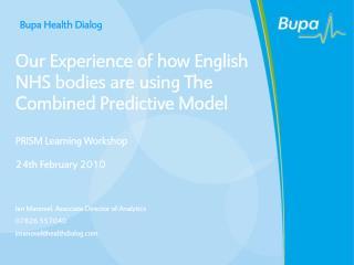 BUPA Presentation Template