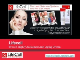 Make Wrinkles Vanish Within 17 Seconds By Using Lifecell