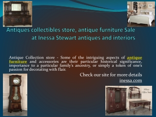 Antiques collectibles Store