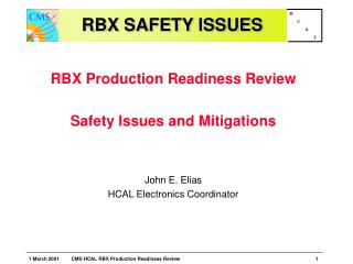 RBX SAFETY ISSUES