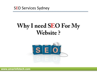 SEO - SEO Services in  sydney