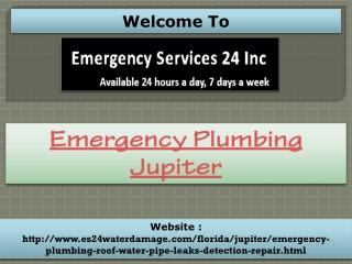 Emergency Plumbing Jupiter