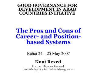 The Pros and Cons of Career- and Position-based Systems