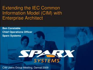 Extending the IEC Common Information Model CIM with Enterprise Architect