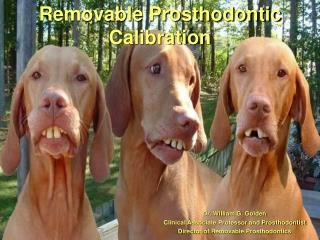 Removable Prosthodontic Calibration