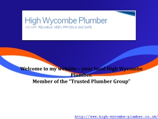plumbers in high wycombe