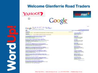 welcome glenferrie road traders