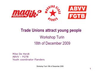 Trade Unions attract young people