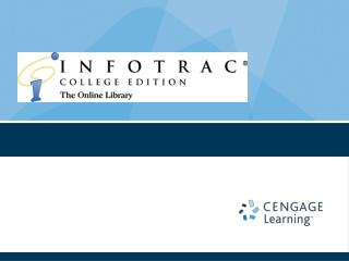 infotrac college edition