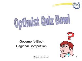 Quiz Bowl Governor - Elect