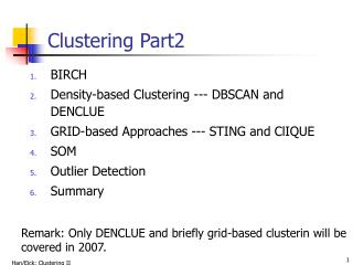 Clustering Part2