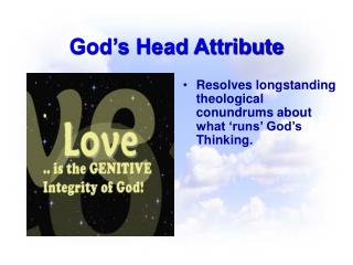 God s Head Attribute